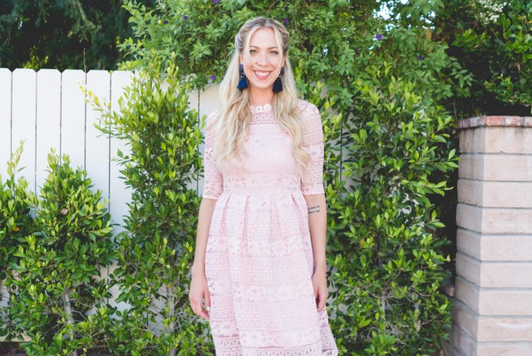 brandi-matthews-brandilocks-pink-lace-dress-FEATURED-1