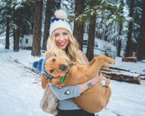 Snowy Adventures with Delilah
